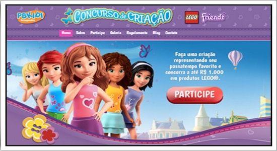 Lego Oferece Prêmios em CONCURSO DE CRIAÇÃO