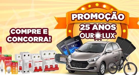 Cadastrar Promoção 25 Anos Ourolux 99.000 Mil Reais Prêmios
