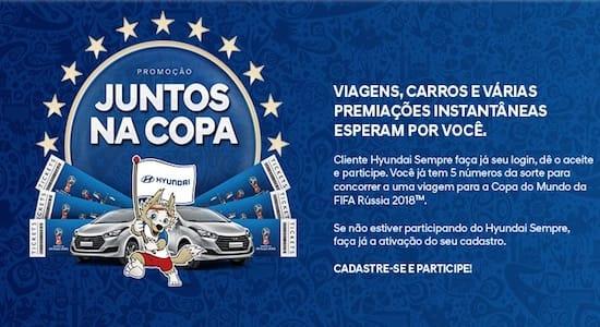 Promoção Hyundai Sempre Juntos na Copa